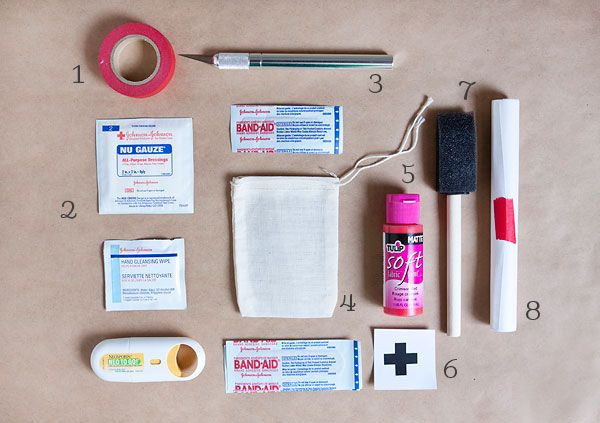 Best ideas about Mini First Aid Kit DIY . Save or Pin DIY Mini First Aid Kit DIY Now.