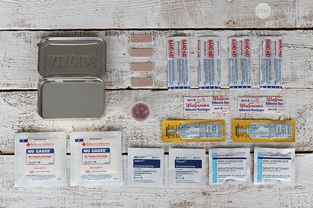 Best ideas about Mini First Aid Kit DIY . Save or Pin 5 DIY Mini Emergency Kits · e Good Thing by Jillee Now.