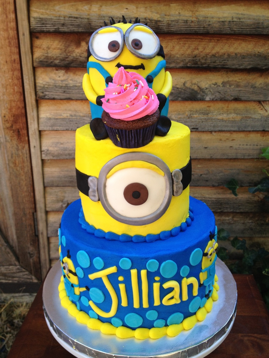 Best ideas about Minions Birthday Cake . Save or Pin Minion Birthday Cake CakeCentral Now.