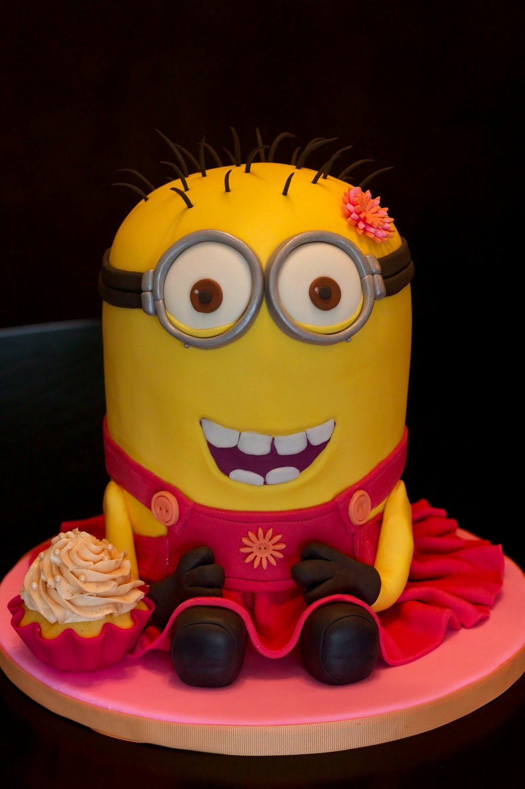 Best ideas about Minions Birthday Cake . Save or Pin Sweet D Cakes A despicably pretty minion cake Now.