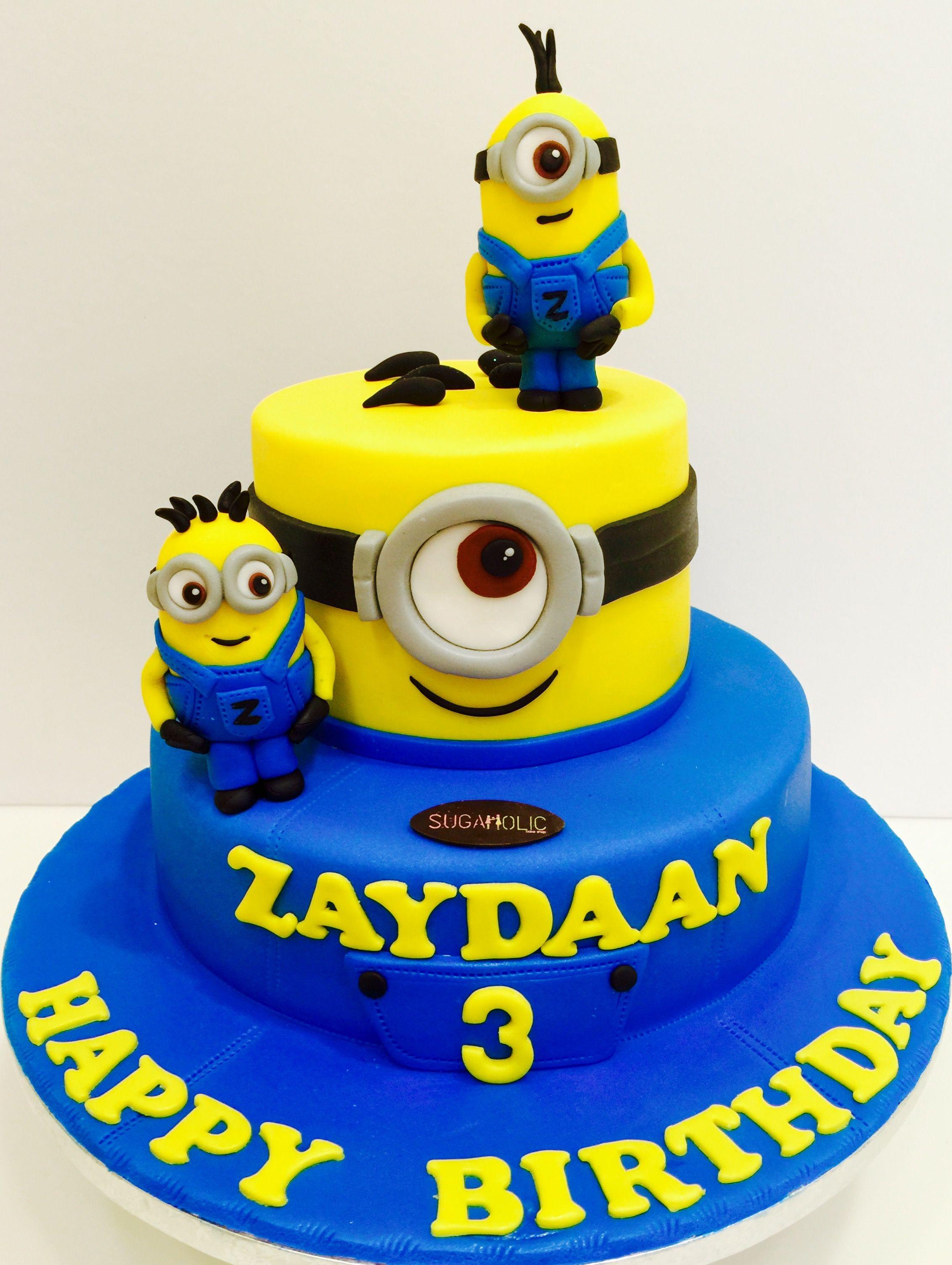 Best ideas about Minions Birthday Cake . Save or Pin Baby Tv Cake dogum gunu ikramlik t Cumpleaos Now.