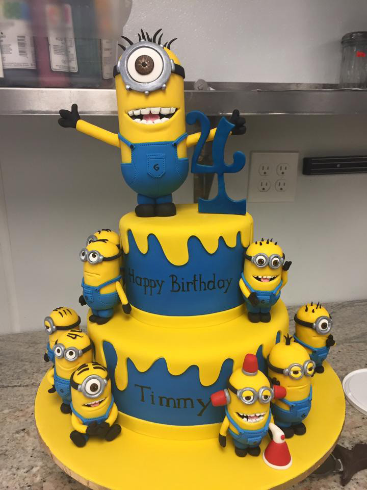 Best ideas about Minions Birthday Cake . Save or Pin Minions Birthday Cake • Palermo s Custom Cakes & Bakery Now.