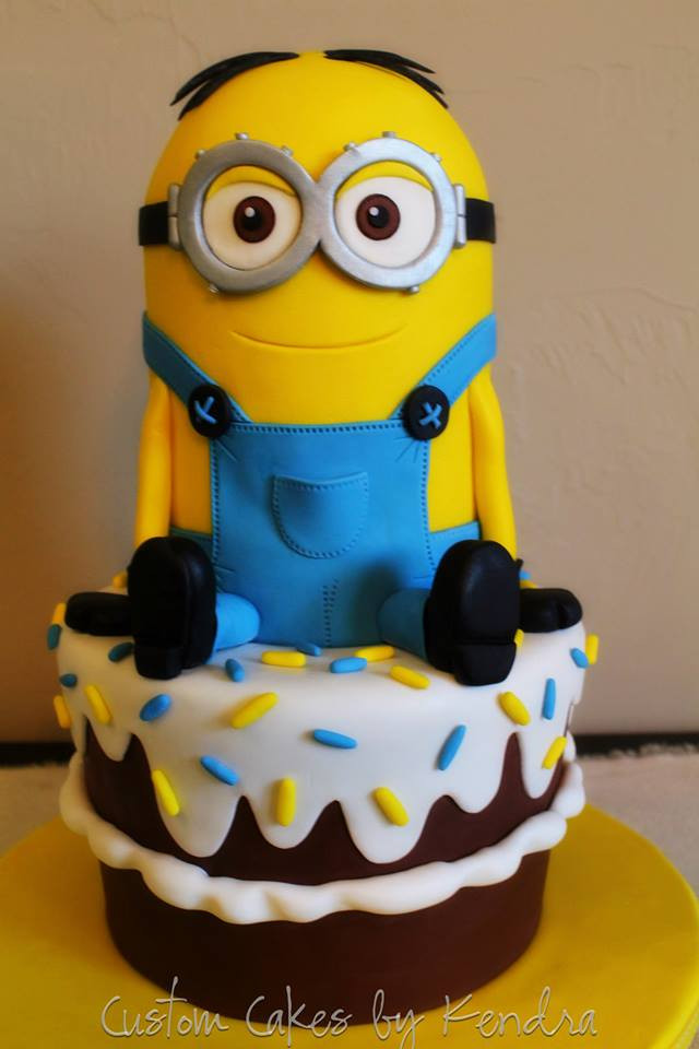 Best ideas about Minions Birthday Cake . Save or Pin Top 10 Crazy Minions Cake Ideas Now.