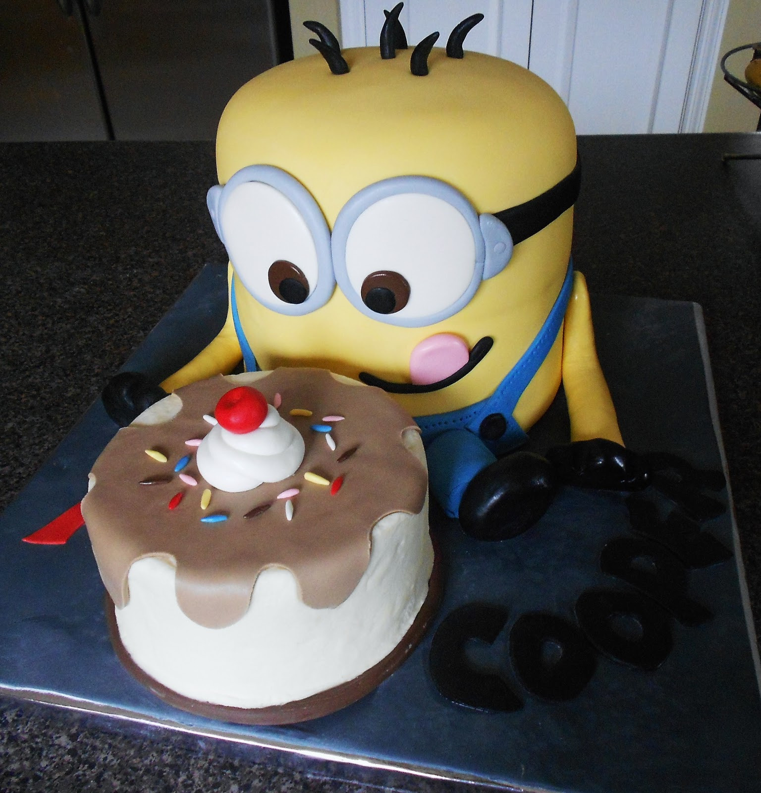 Best ideas about Minions Birthday Cake . Save or Pin SARAH JANE occasionally and among other things DOES CAKE Now.
