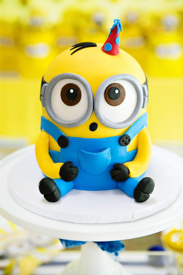 Best ideas about Minions Birthday Cake . Save or Pin Best 25 Minion Cakes ideas on Pinterest Now.