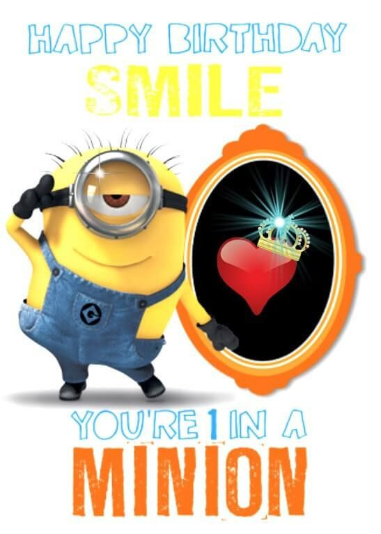 Best ideas about Minions Birthday Quotes . Save or Pin 1000 ideas about Happy Birthday Minions on Pinterest Now.
