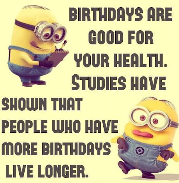 Best ideas about Minions Birthday Quotes . Save or Pin Birthday Funny Minion Quote s and Now.