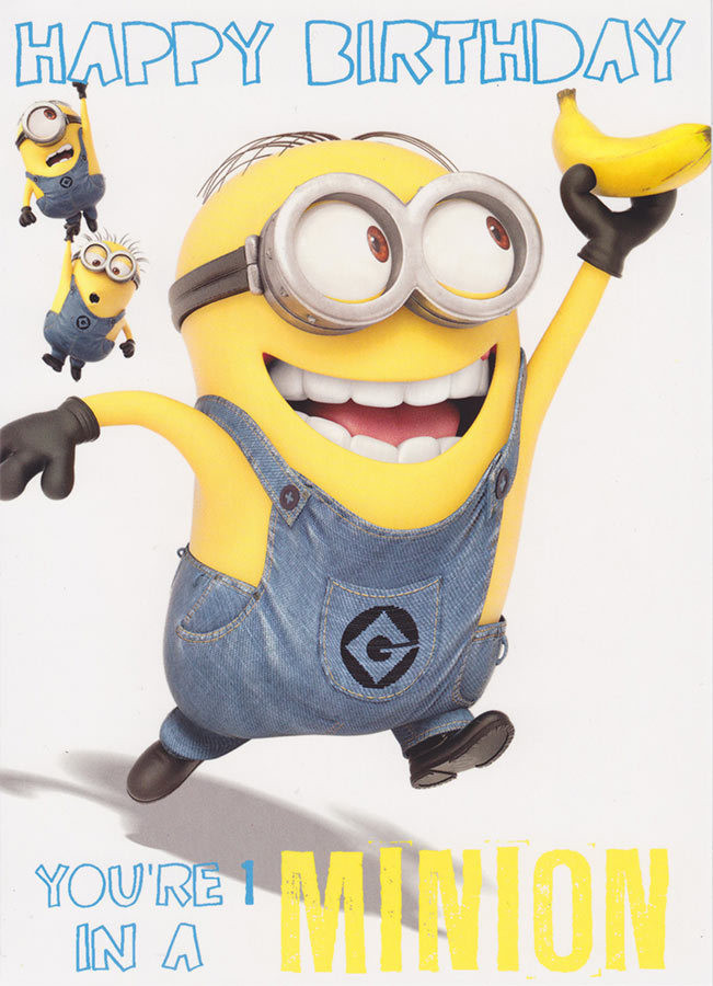 Best ideas about Minions Birthday Quotes . Save or Pin Minion Birthday Quotes QuotesGram Now.