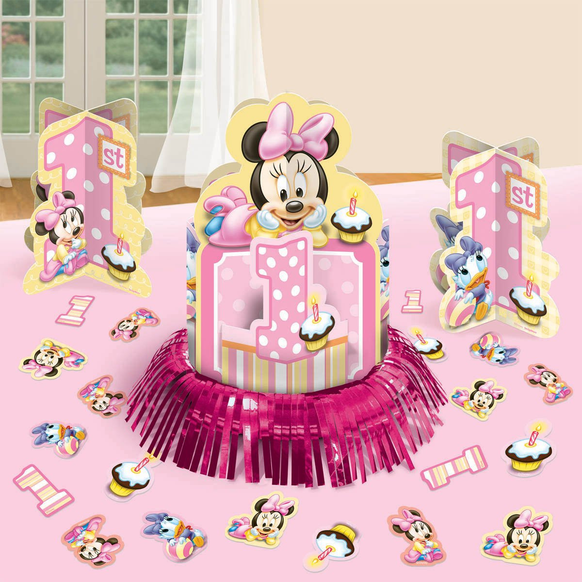 Best ideas about Minnie Mouse First Birthday Decorations . Save or Pin Baby Minnie Mouse Decorations Now.