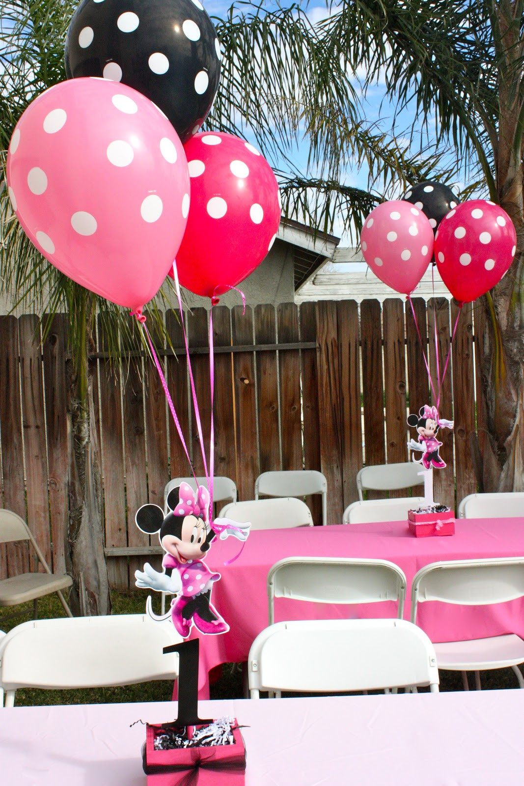 Best ideas about Minnie Mouse First Birthday Decorations . Save or Pin tini Sophia s 1st Birthday Minnie Mouse Party Now.