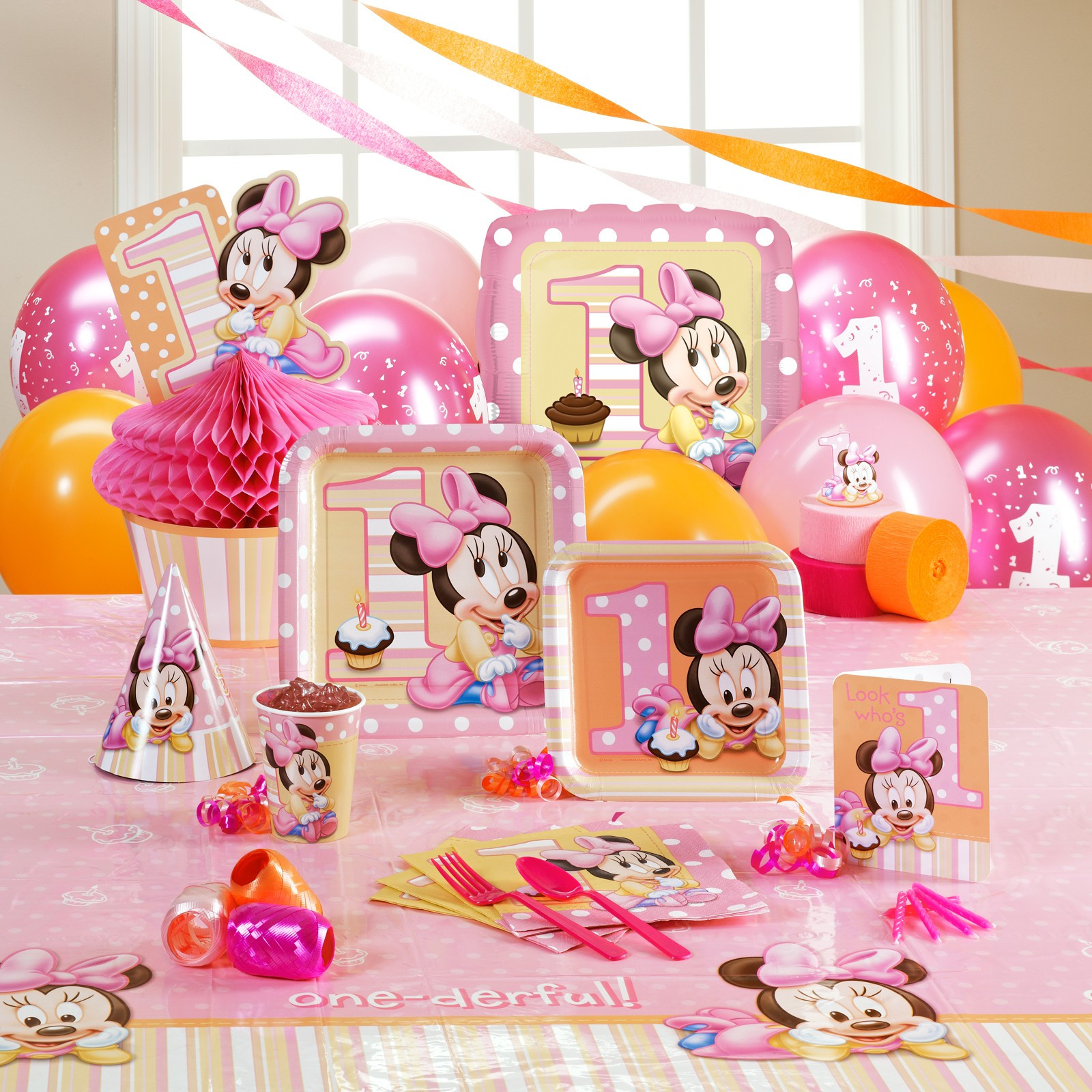 Best ideas about Minnie Mouse First Birthday Decorations . Save or Pin Minnie Mouse 1st Birthday Party Now.