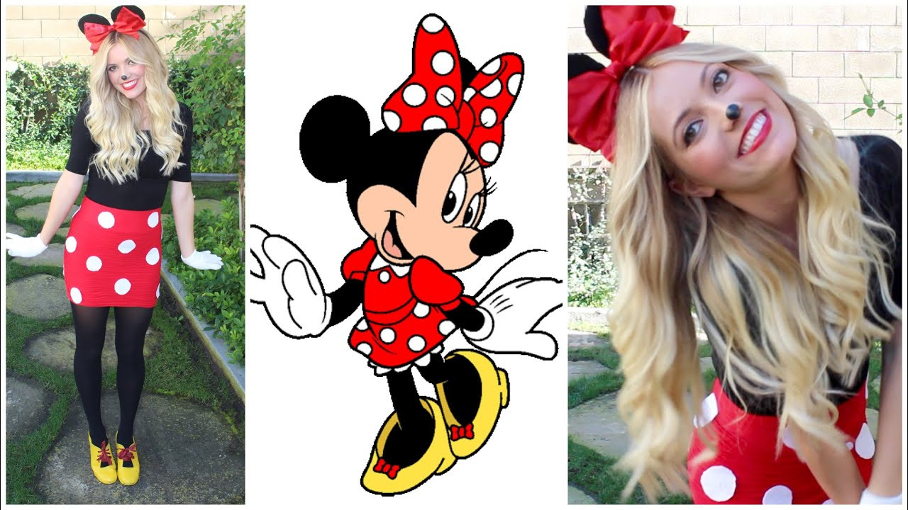Best ideas about Minnie Mouse Halloween Costume DIY . Save or Pin Minnie Mouse DIY Halloween Costume Style By Dani Now.