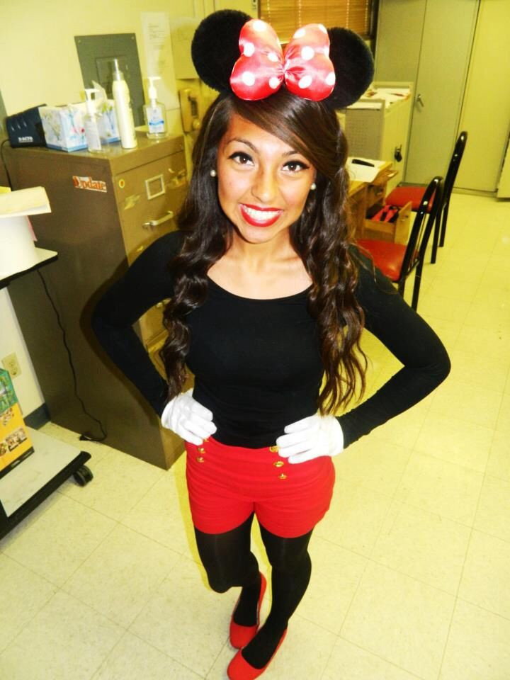 Best ideas about Minnie Mouse Halloween Costume DIY . Save or Pin Cute DIY Minnie Mouse costume Now.