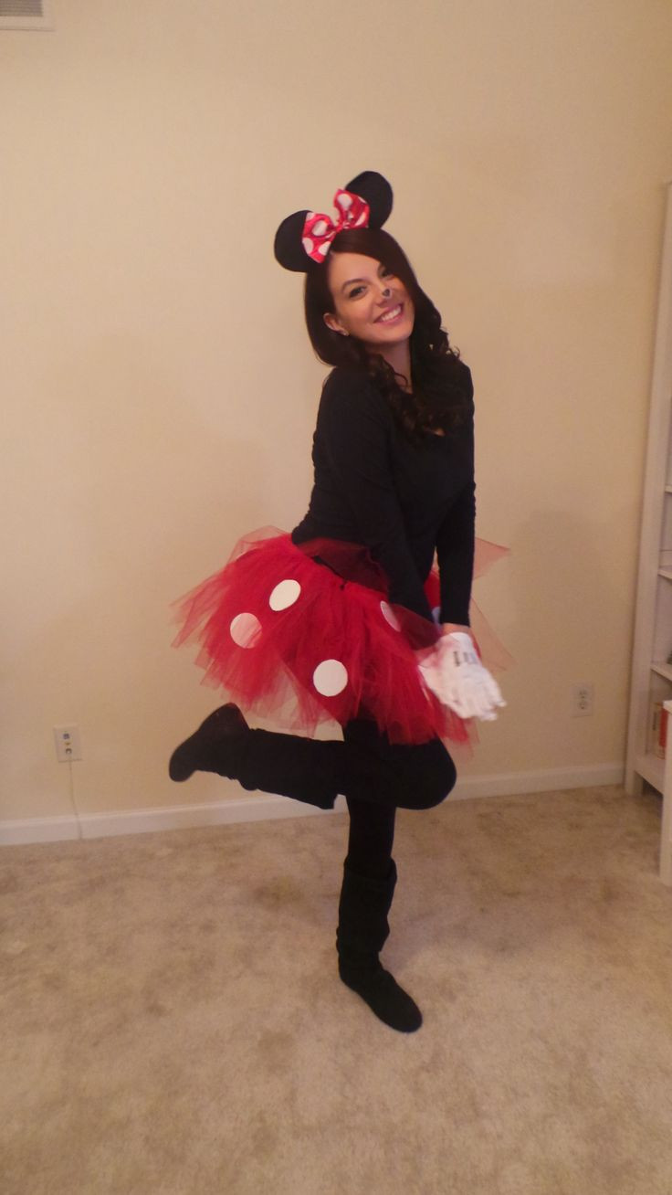 Best ideas about Minnie Mouse Halloween Costume DIY . Save or Pin DIY Minnie Mouse costume My style Now.