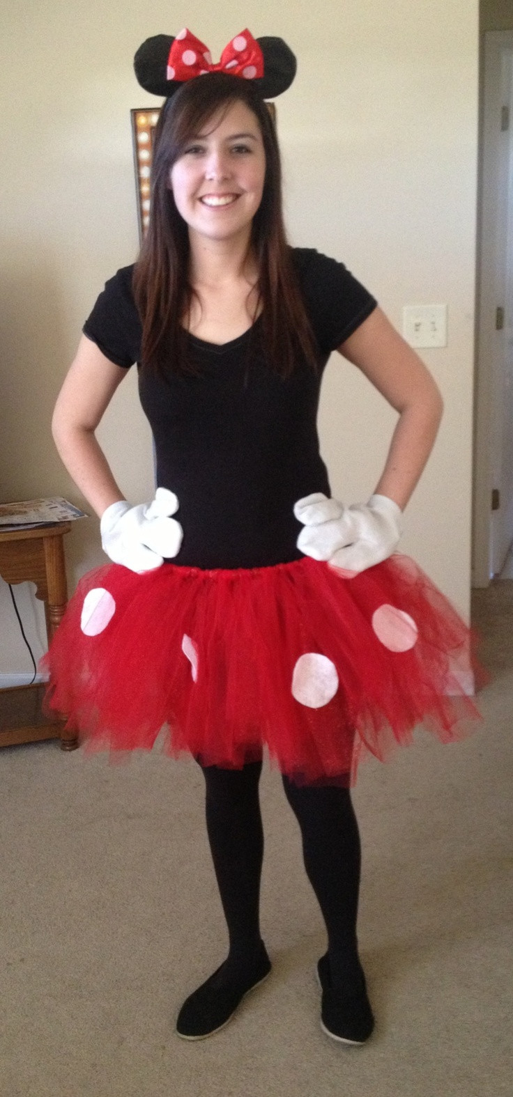 Best ideas about Minnie Mouse Halloween Costume DIY . Save or Pin 1000 images about Minnie & Mickey Mouse on Pinterest Now.