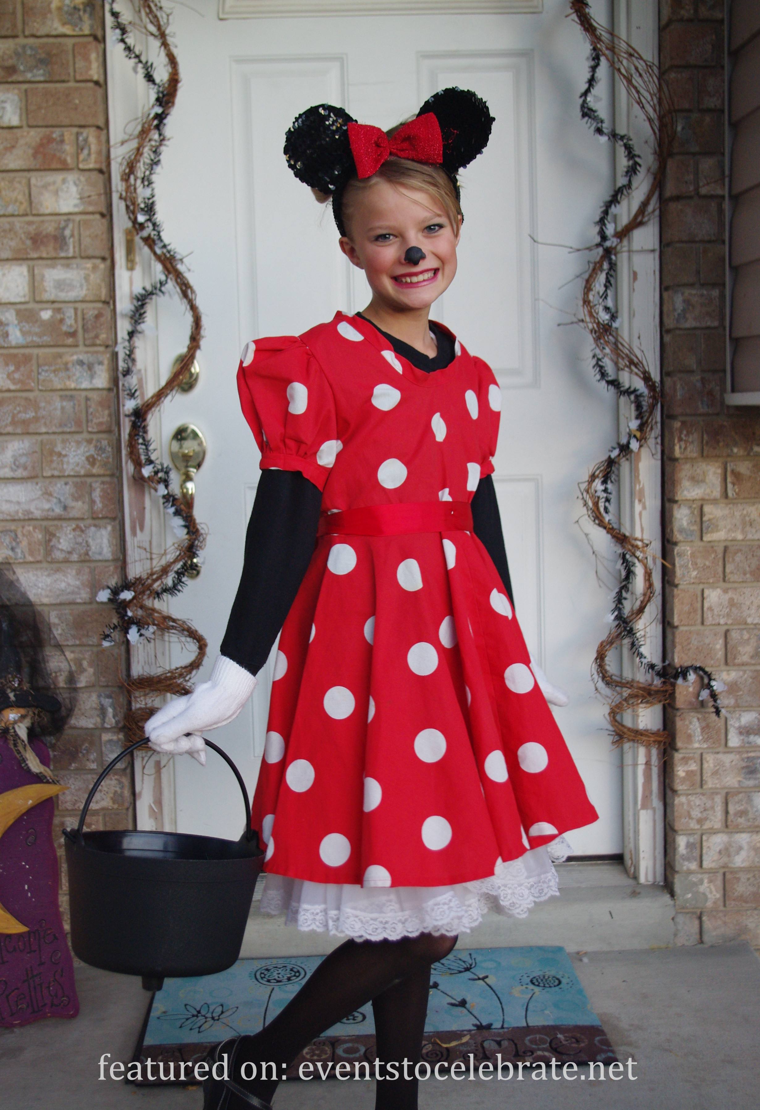 Best ideas about Minnie Mouse Halloween Costume DIY . Save or Pin DIY Halloween Costumes events to CELEBRATE Now.