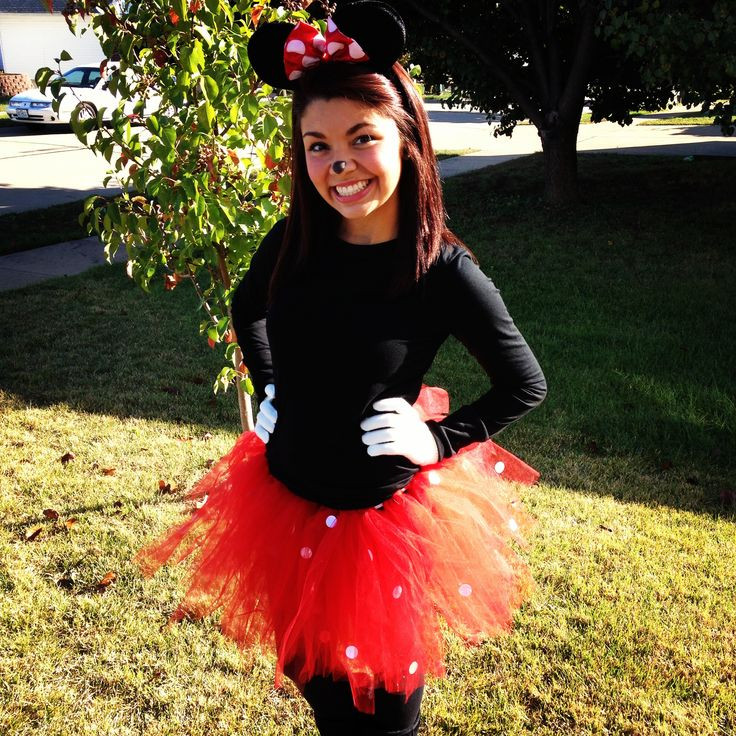 Best ideas about Minnie Mouse Halloween Costume DIY . Save or Pin Minnie Mouse Costume Now.