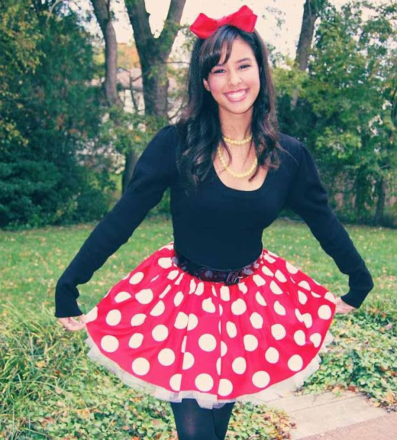 Best ideas about Minnie Mouse Halloween Costume DIY . Save or Pin Minnie Mouse skirt perfection Now.