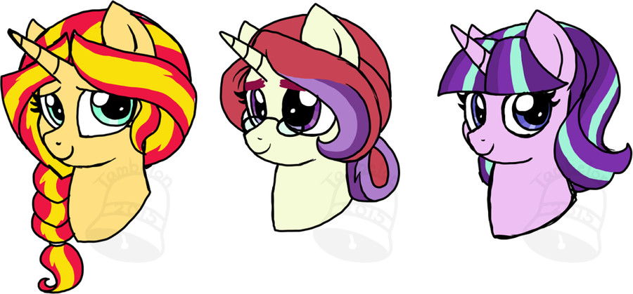 Best ideas about Mlp Hairstyles . Save or Pin NG Hairstyles by Tambelon on DeviantArt Now.