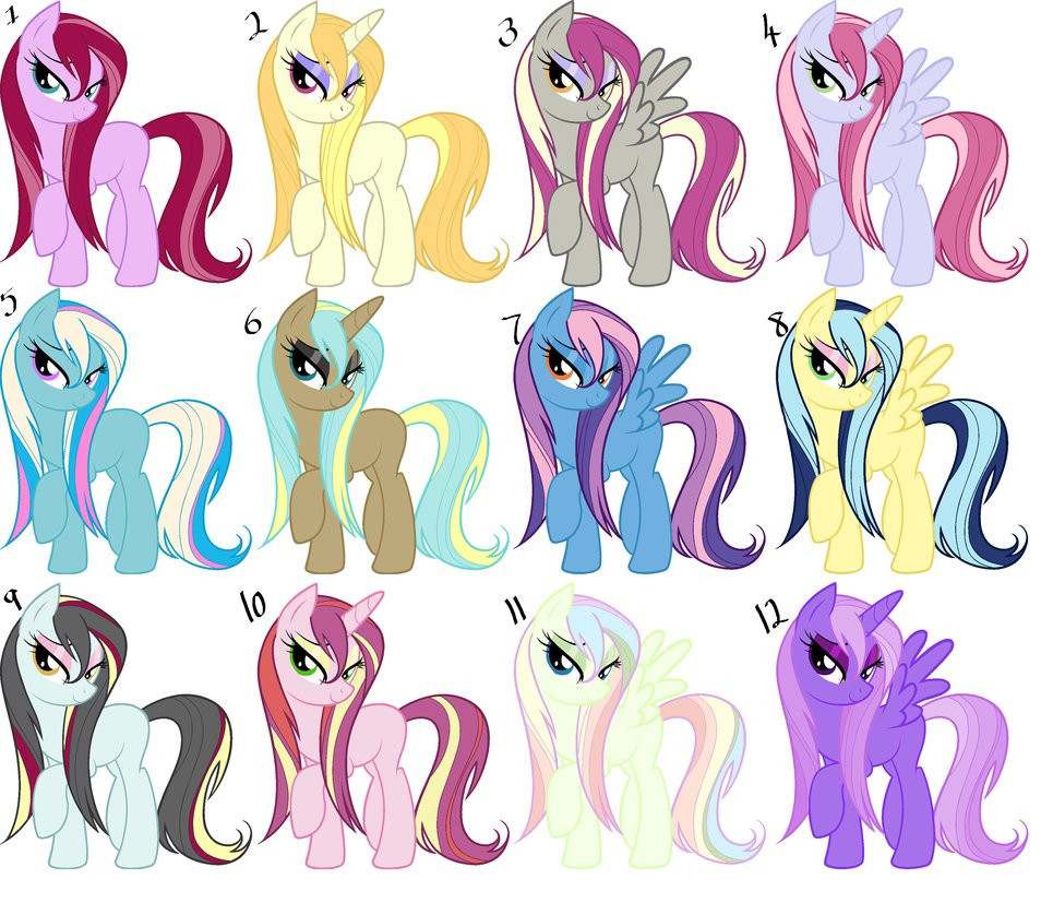 Best ideas about Mlp Hairstyles . Save or Pin Wet Mane Pony Adoptables by MonkFishyAdopts on DeviantArt Now.