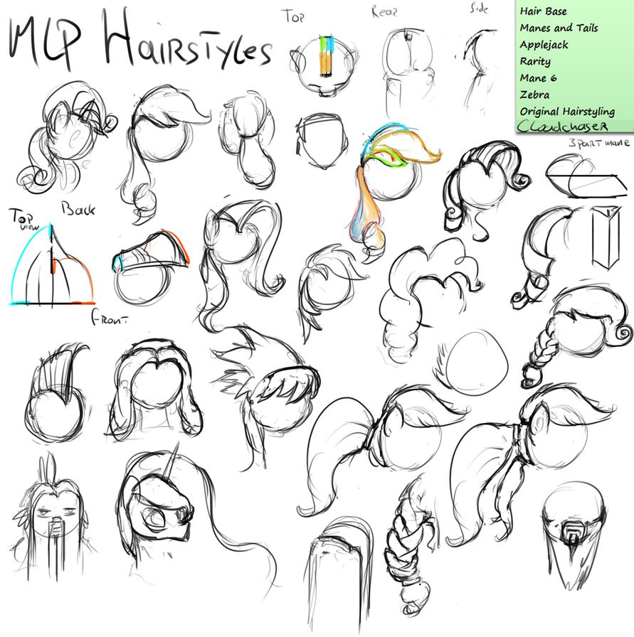Best ideas about Mlp Hairstyles . Save or Pin Bananart Workshop MLP Hair Styles by AssasinMonkey on Now.