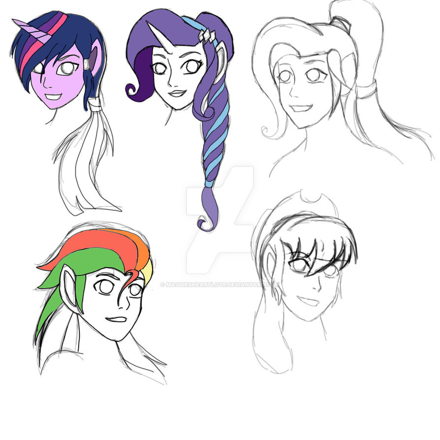 Best ideas about Mlp Hairstyles . Save or Pin MLP The Legend of Korra book 4 hairstyles by Now.