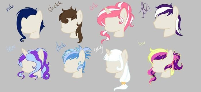 Best ideas about Mlp Hairstyles . Save or Pin xxXamyChanXxx Jamie Lee Now.