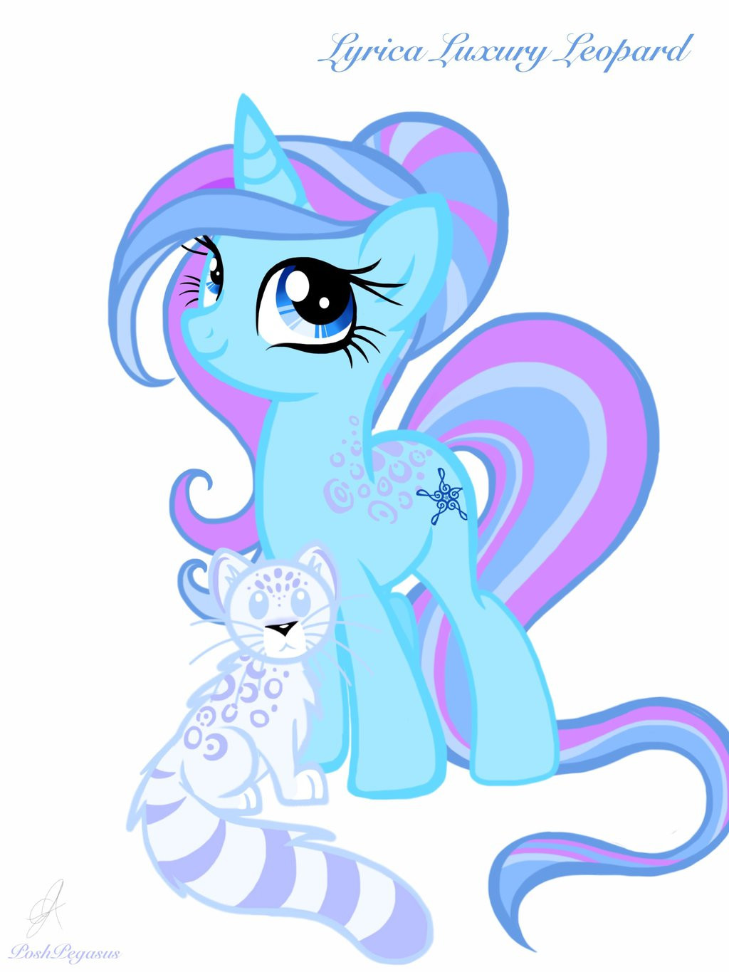 Best ideas about Mlp Hairstyles . Save or Pin MLP Lyrica Luxury Leopard by PoshPegasus on DeviantArt Now.