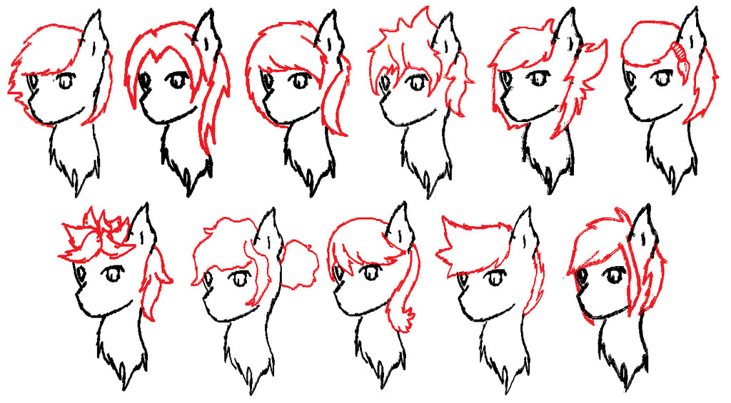 Best ideas about Mlp Hairstyles . Save or Pin Mlp hair Styles by RavenPember on DeviantArt Now.