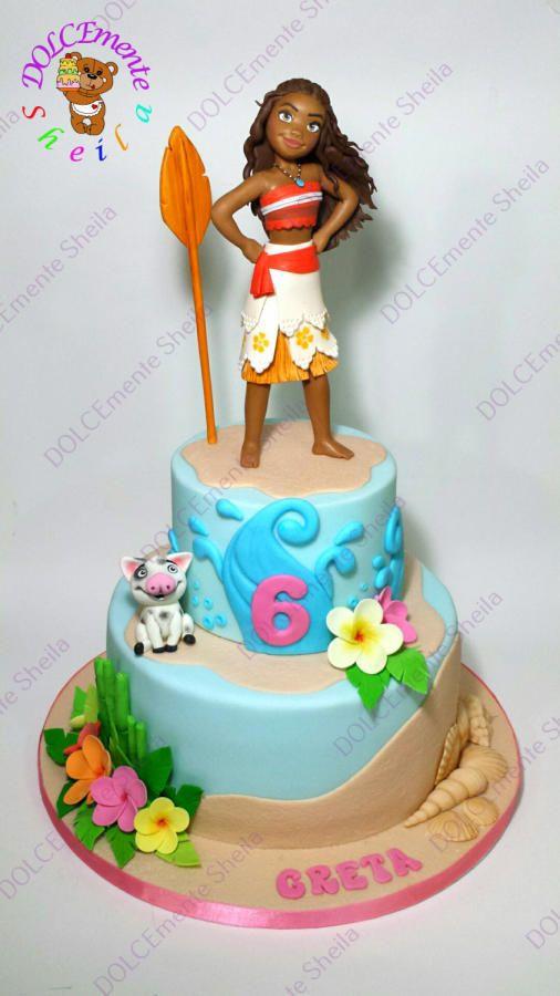 Best ideas about Moana Birthday Cake Walmart . Save or Pin 55 melhores imagens sobre Vaiana cakes no Pinterest Now.