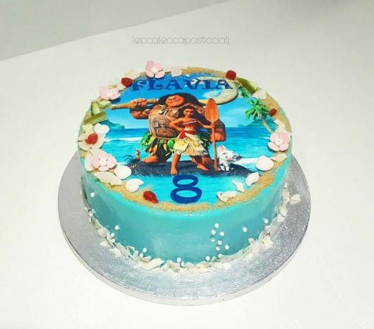 Best ideas about Moana Birthday Cake Walmart . Save or Pin Bolo Moana 60 Modelos Impressionantes e Passo a Passo Now.