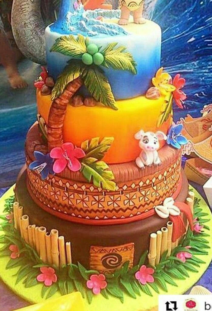 Best ideas about Moana Birthday Cake Walmart . Save or Pin Moana cake cake by Cakeaholic22 Colourful cakes t Now.