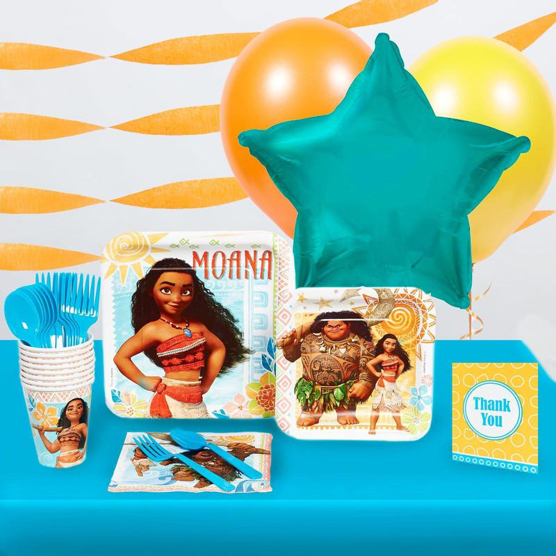 Best ideas about Moana Birthday Cake Walmart . Save or Pin BuySeasons Disney Moana Basic Party Pack Party Tableware Now.
