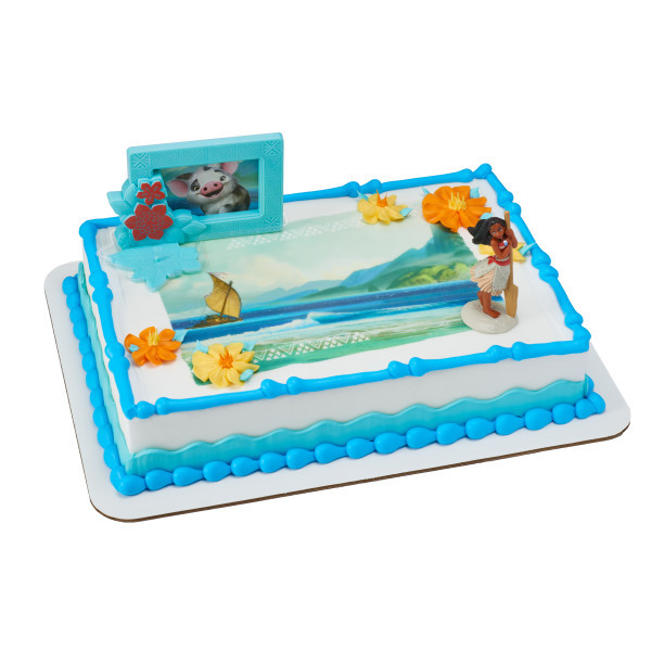 Best ideas about Moana Birthday Cake Walmart . Save or Pin Moana Adventures in Oceania DecoSet Now.