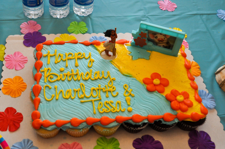Best ideas about Moana Birthday Cake Walmart . Save or Pin Simple Celebrations An easy Moana themed luau – salty Now.