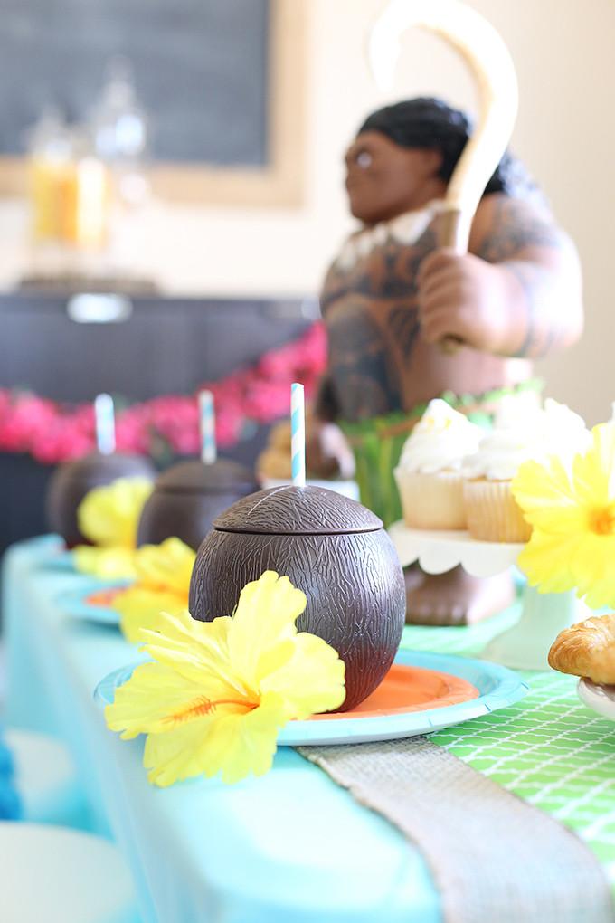 Best ideas about Moana Birthday Cake Walmart . Save or Pin Disney Moana Luau Birthday Party See Vanessa Craft Now.