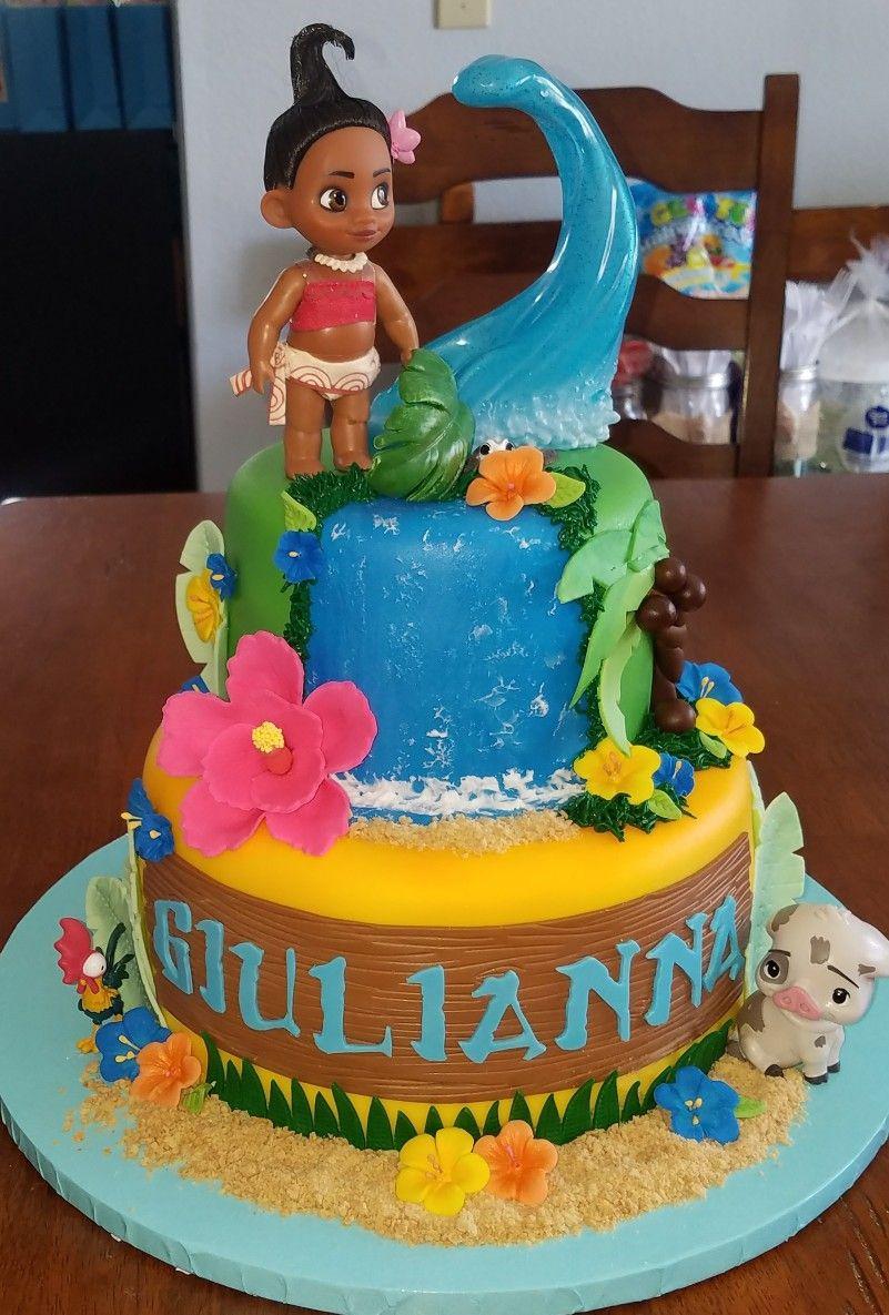 Best ideas about Moana Birthday Cake Walmart . Save or Pin Moana Theme Birthday Cake Kager Pinterest Now.