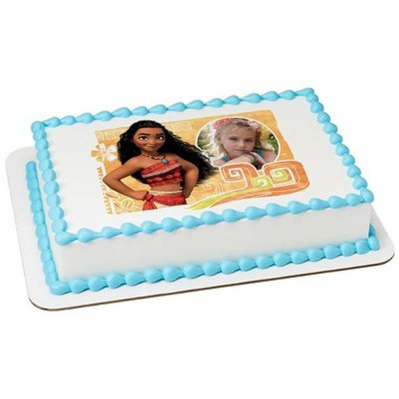 Best ideas about Moana Birthday Cake Walmart . Save or Pin Moana The Wayfinder Picture Frame Edible Cake Topper Now.