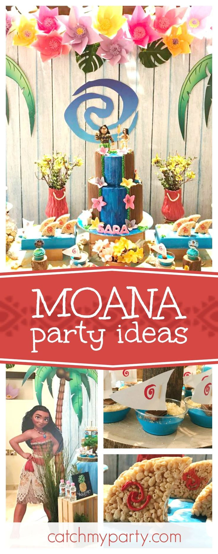 Best ideas about Moana Birthday Party . Save or Pin 152 best Moana Birthday Party Ideas images on Pinterest Now.