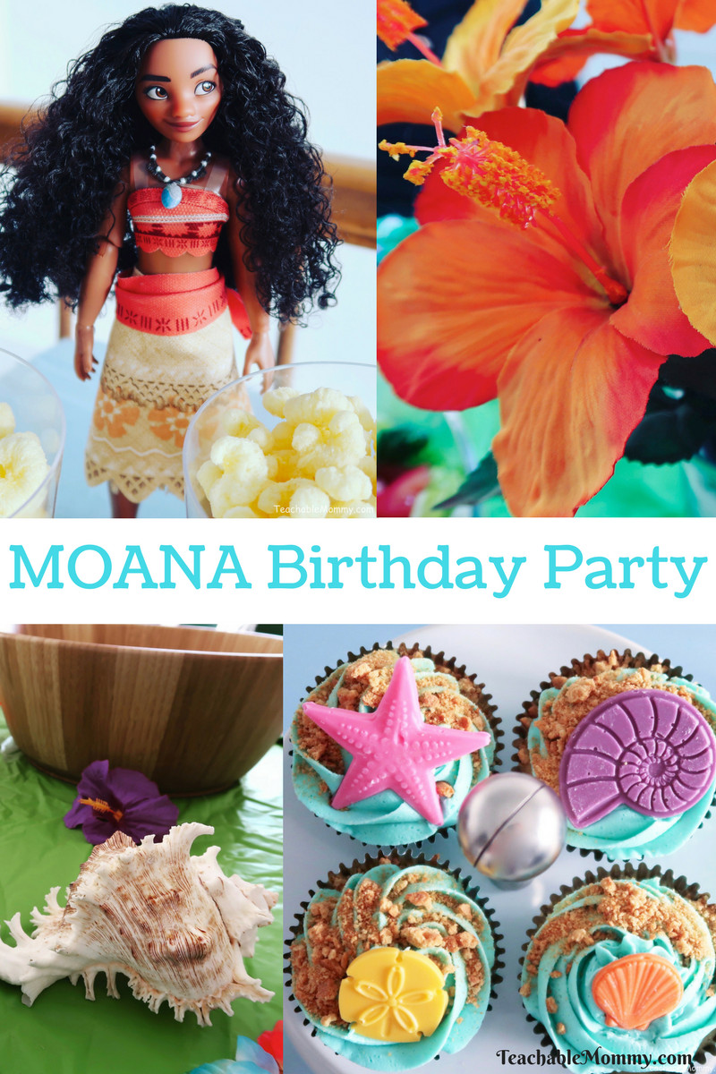 Best ideas about Moana Birthday Party . Save or Pin Moana Birthday Party Ideas Teachable Mommy Now.