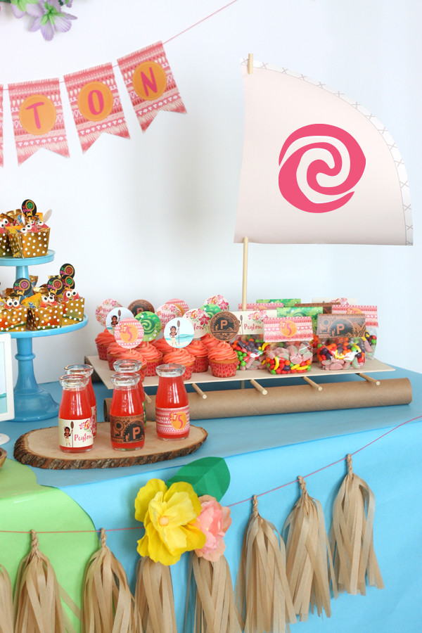 Best ideas about Moana Birthday Party Decorations . Save or Pin Moana Birthday party Now.