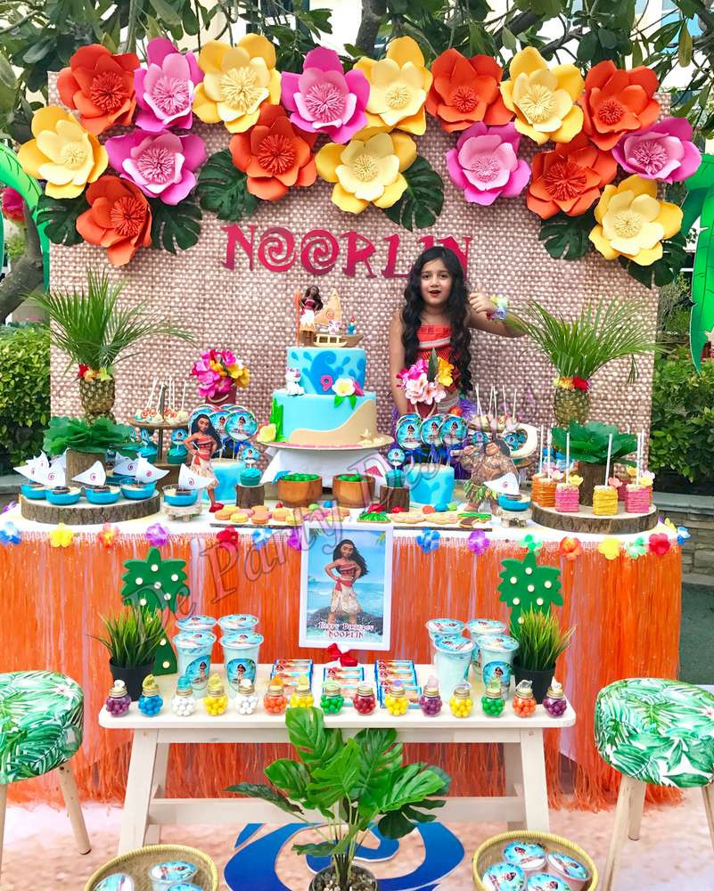 Best ideas about Moana Birthday Party Decorations . Save or Pin Moana Birthday Party Ideas 1 of 10 Now.
