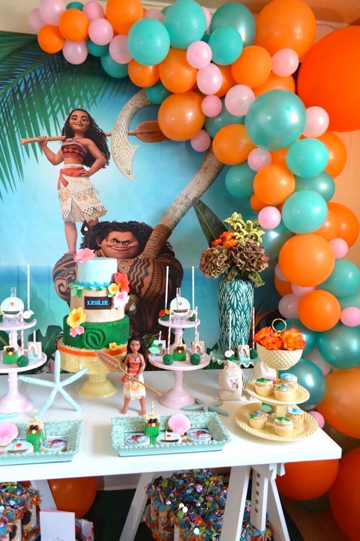 Best ideas about Moana Birthday Party . Save or Pin Kara s Party Ideas Chic Moana Birthday Party Now.