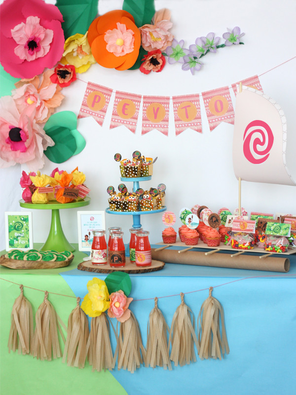 Best ideas about Moana Birthday Party Ideas . Save or Pin DIY Moana Boat Tutorial Now.