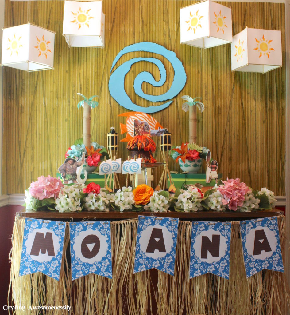 Best ideas about Moana Birthday Party Ideas . Save or Pin Free Printable Moana Birthday Invitation and Party Ideas Now.