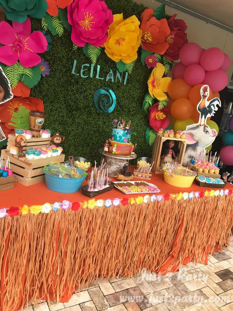 Best ideas about Moana Birthday Party Ideas . Save or Pin Moana Birthday Party Ideas in 2019 sere Now.
