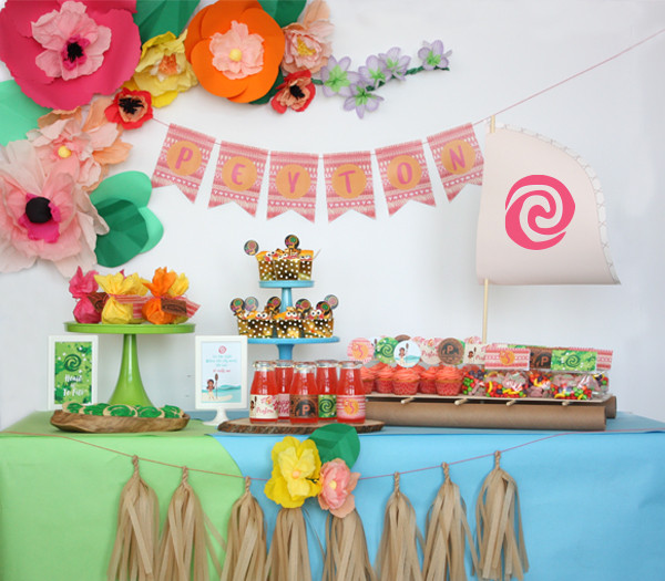 Best ideas about Moana Birthday Party Ideas . Save or Pin Moana Birthday party Now.