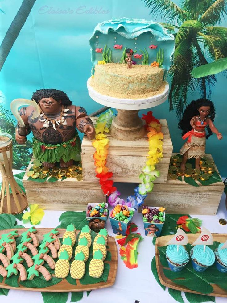 Best ideas about Moana Birthday Party . Save or Pin 14 best Maui birthday cakes images on Pinterest Now.