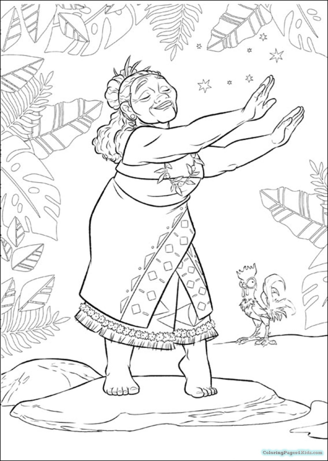 Best ideas about Moana Coloring Sheets For Girls . Save or Pin Girl Coloring Pages Moana Now.