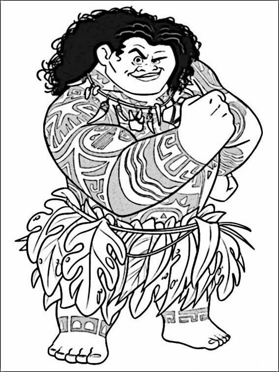 Best ideas about Moana Coloring Sheets For Girls . Save or Pin Målarbilder Now.